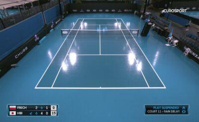 Deszcz storpedował kwalifikacje Australian Open