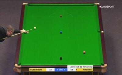 Maguire ograł Robertsona w 1. rundzie Mastersa