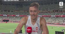 Tokio. Lekkoatletyka: Michał Rozmys po finale biegu na 1500 m