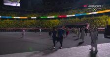 Tokio. Ceremonia zamknięcia igrzysk: początek defilady sportowców