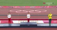 Tokio. Lekkoatletyka: Maria Andrejczyk udekorowana srebrnym medalem