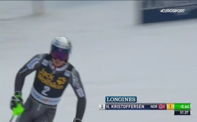 Kristoffersen liderem po pierwszym przejeździe slalomu w Kranjskiej Gorze