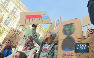 """Thousand Cities Protest"" against climate change. Polish youth involved"