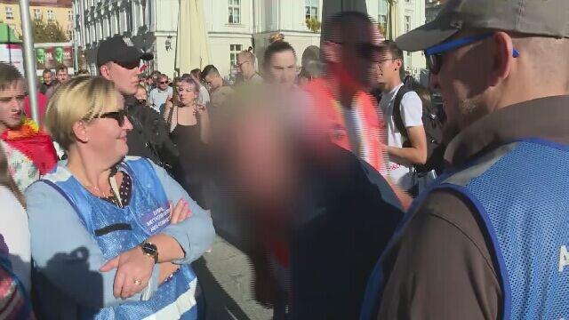 Wójt Żelazkowa Sylwiusz J. zatrzymany podczas Marszu Równości w Kaliszu. Miał dwa promile we krwi