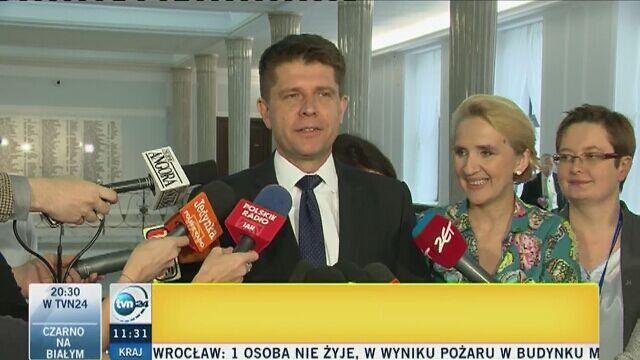 Petru i Kukiz szefami klubów parlamentarnych