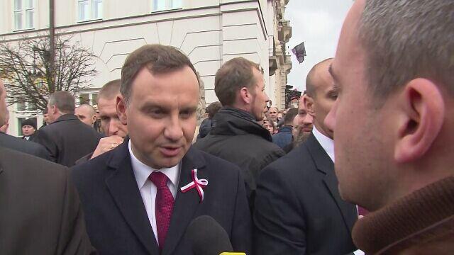 Prezydent: umówiliśmy się, gdzie nastąpi przyjęcie dymisji
