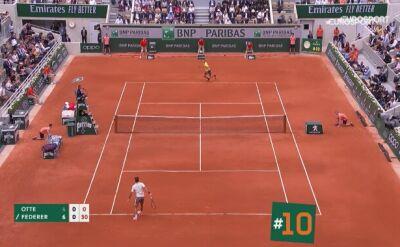 Najlepsze dropszoty z Roland Garros 2019