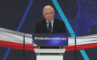 Prezes PiS o działaniach PO: oni traktują władzę jako mechanizm manipulacji społeczeństwem