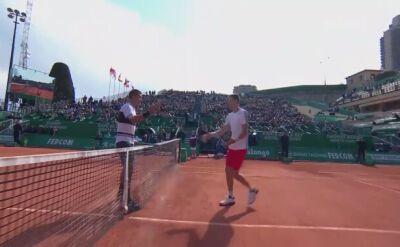 Skrót meczu Hurkacz - Corić w 1. rundzie turnieju ATP Monte Carlo