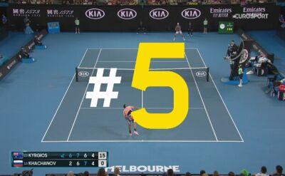 Najlepsze zagrania szóstego dnia Australian Open