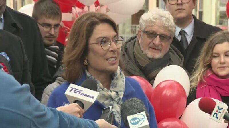 Małgorzata Kidawa-Błońska: proszę pana prezydenta: proszę nie niszczyć naszych marzeń