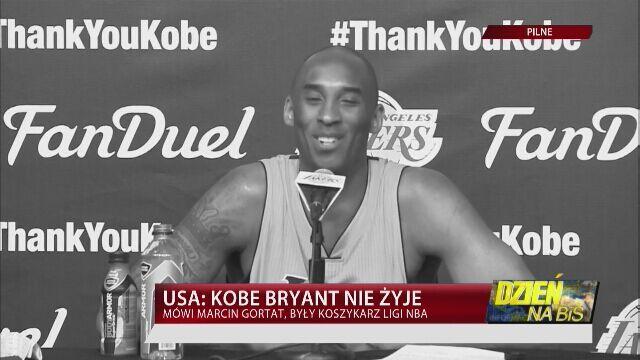 Gortat: Bryant byłtwarzą NBA