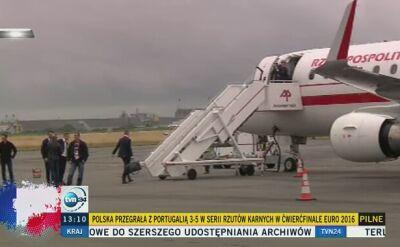 Polacy wracają do kraju rządowym embraerem