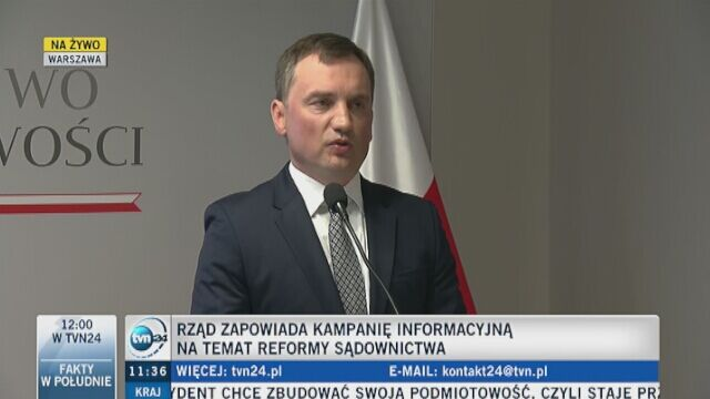 Zbigniew Ziobro o rządowej kampanii billboardowej