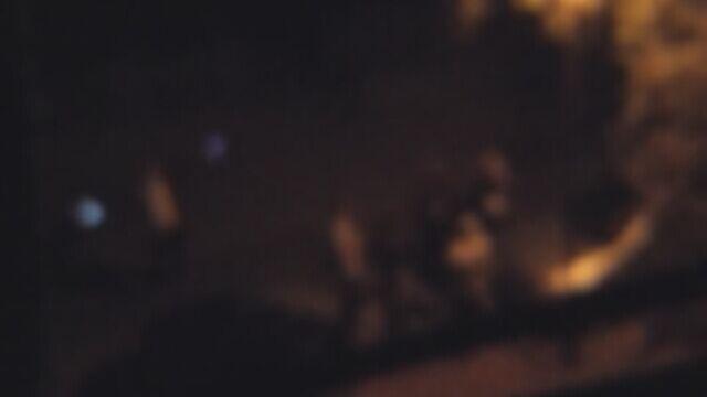 Impreza zaczęła się między blokami