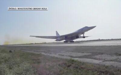 Rosyjskie bombowce Tu-160 nad Morzem Bałtyckim