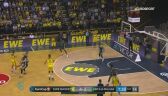 Skrót meczu EWE Baskets Oldenburg - Unicaja Malaga