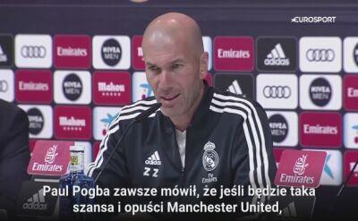 Zidane: za mnie zapłacili 72 miliony euro i to było szalone