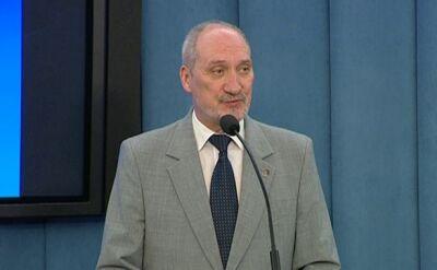 Macierewicz do prokuratora generalnego: Wznowić postępowanie