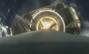 Powrót rakiety z kosmosu w przyśpieszonym tempie