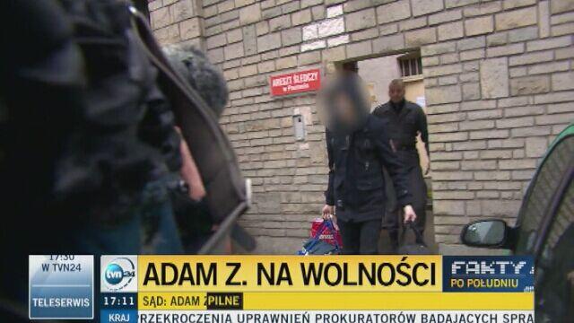 Adam Z. na wolności