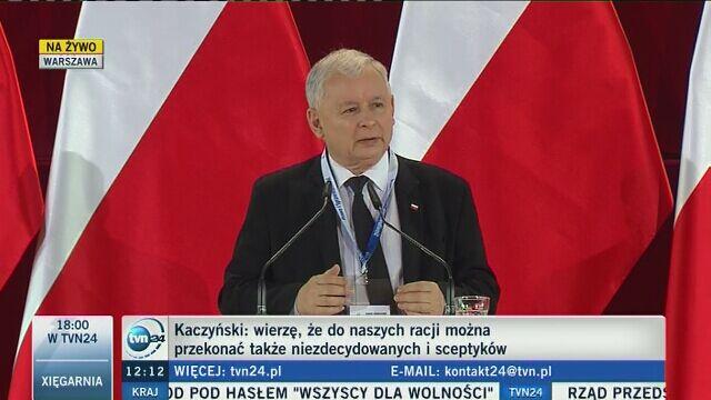 Kaczyński: mamy do czynienia z buntem, mamy rebelię