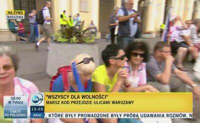 Marsz KOD przejdzie ulicami Warszawy