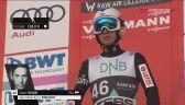 Skok Kamila Stocha z 1. serii konkursu w Lillehammer