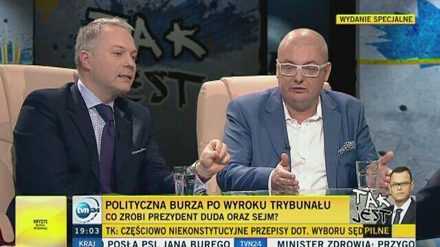"""""""TK powinien stać na straży prawa i konstytucji, a nie interesów partyjnych"""""""