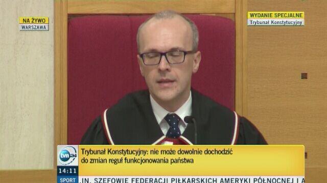 Zubik: Przepisy w art. 3 ustawy nie dodały kompetencji TK. Są jasne