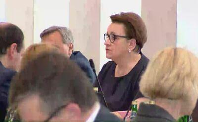 """Zalewska dziękuje Broniarzowi. """"Decyzja ważna dla uczniów, rodziców i nauczycieli"""""""