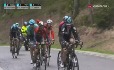 Problemy Majki na 5. etapie Tour of the Alps