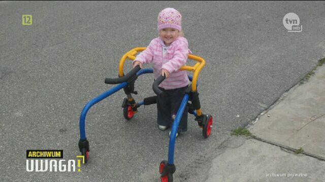 Dziewczynce pomogła fundacja TVN