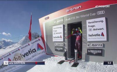 Shiffrin najszybsza w supergigancie w St. Moritz