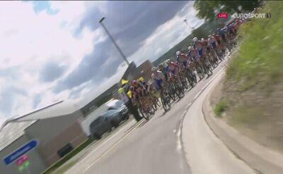 Niebezpiecznie na trasie 2. etapu Tour de Wallonie