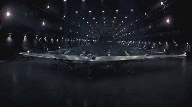 Northrop Grumman reklamuje swoje prace nad nowym bombowcem
