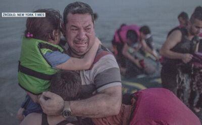Rozmowa reportera TVN24 z iracką rodziną