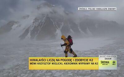Krzysztof Wielicki o sytuacji na K2