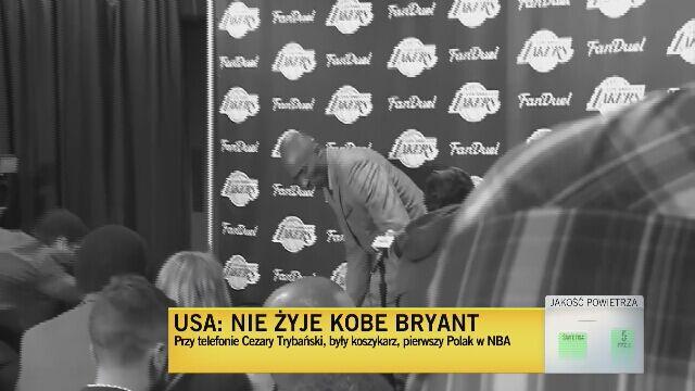 Trybański: Bryant powtarzał,że życie jest krótkie