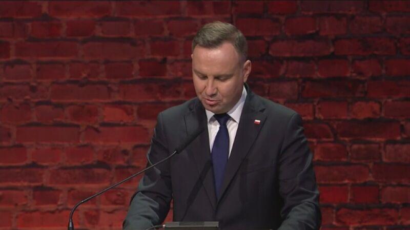 Całe przemówienie Andrzeja Dudy. 75. rocznica wyzwolenia Auschwitz