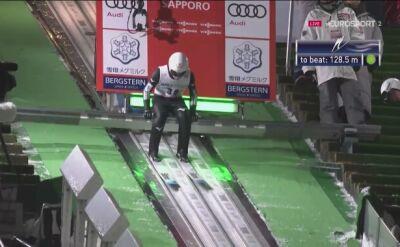 Zwycięski skok Yukiyi Sato z Sapporo