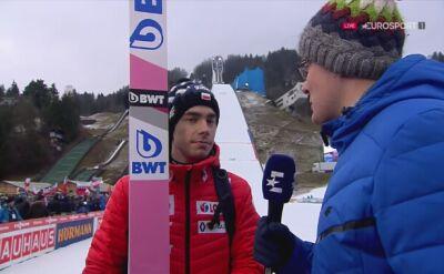 Jakub Wolny po konkursie w Garmisch-Partenkirchen
