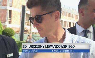 Lewandowski kończy 30 lat
