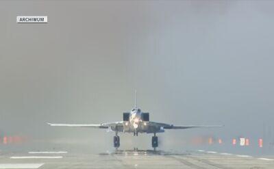 Rosyjskie bombowce startują z bazy Hmejmim w Syrii