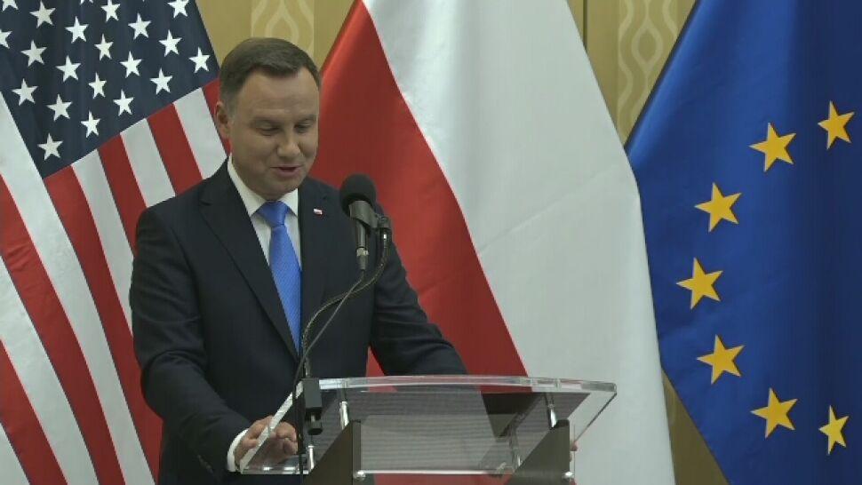 Duda: polsko-amerykańskiej obecności wojskowej w Polsce czas nadać nową jakość