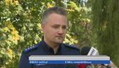 Policja o zatrzymaniu nożownika