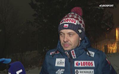 Michal Doleżal po kwalifikacjach w Oslo