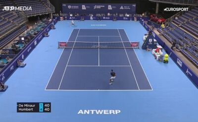 Ugo Humbert wygrał turniej w Antwerpii