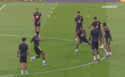 Brazylijczycy ciężko ćwiczą przed spotkaniem z Koreą Południową