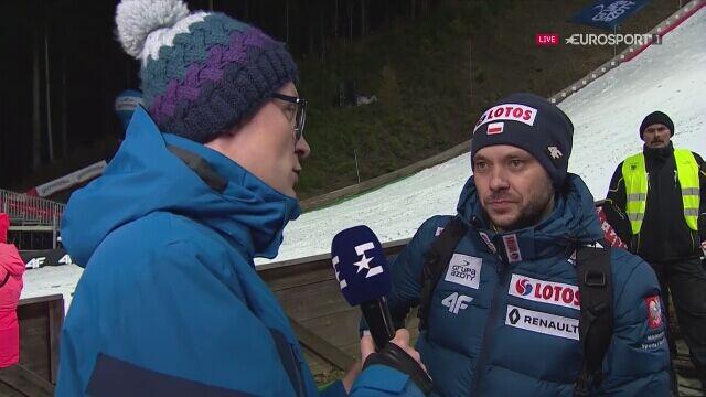 Rozmowa z trenerem Michalem Doleżalem po kwalifikacjach w Wiśle